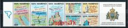 SAN MARINO Mi.Nr. 1435-1437C-1447-1450 EUROPA MITLÄUFER - Europäisches Jahr Des Tourismus- 1990- MNH - 1990