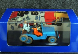 JEEP WILLYS CJ2a 1946 Tintin En Voiture - 1/43 - NEUF Boîte Plastique & Carton - Autres