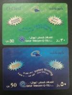 Qatar Telephone Card 2 Different - Qatar