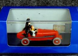 Bolide Rouge 1930 Tintin En Voiture - 1/43 - NEUF Boîte Plastique & Carton - Cars & 4-wheels