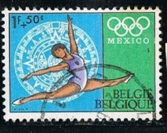 BELGIUM-BELGIQUE 1968 Y&T N°1456 Olympic Games- Mexico - België