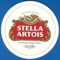 Russia - Bierdeckel - Stella Artois (211/2) - Portavasos