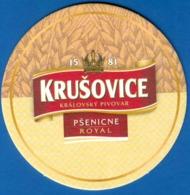 Russia - Bierdeckel - Krusovice (307/1) - Portavasos