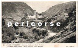 Vallée D'Andorre  Poste  émeteur  Radio Andorre - Andorre