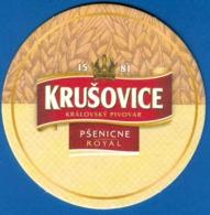 Russia - Bierdeckel - Krusovice (307/3) - Portavasos