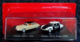 Citroën DS 19 1956 Et DS 19 Police 1958 - 1/87 - NEUF Boîte Plastique & Blister - Cars & 4-wheels