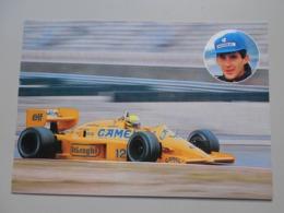 GRAND PRIX F1 GRAND PRIX DE MONACO LOTUS AYRTON SENNA VAINQUEUR GRAND PRIX 1987 - Grand Prix / F1