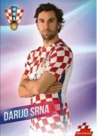 Trading Cards KK000102 - Football (Soccer Calcio) Hrvatska Croatia 10.5cm X 13cm: Darijo Srna - Trading Cards