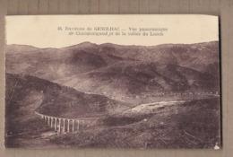 CPA 30 - CHAMBORIGAUD - Environs De GENOLHAC - Vue Panoramique De Chamborigaud Et De La Vallée De Luech - Chamborigaud