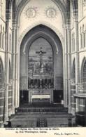 Ixelles - Intérieur De L' Eglise Des Pères Servites De Marie - Edit. L.Lagaert - Ixelles - Elsene