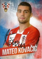 Trading Cards KK000109 - Football (Soccer Calcio) Hrvatska Croatia 10.5cm X 13cm: Mateo Kovacic - Trading Cards