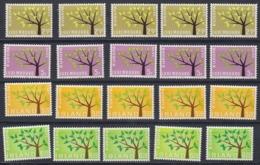 Europa Cept 1962 Luxemburg & Iceland 2x2v (5x) ** Mnh (44972) - 1962