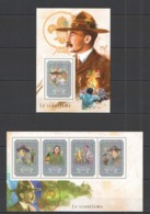 RR452 2014 GUINEE GUINEA ORGANIZATION SCOUTS LE SCOUTISME KB+BL MNH - Other