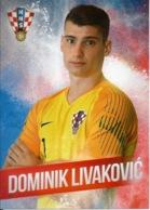 Trading Cards KK000118 - Football (Soccer Calcio) Hrvatska Croatia 10.5cm X 13cm: Dominik Livakovic - Trading Cards