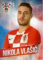 Trading Cards KK000120 - Football (Soccer Calcio) Hrvatska Croatia 10.5cm X 13cm: Nikola Vlasic - Trading Cards