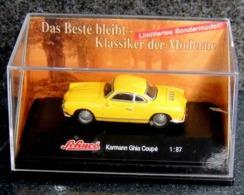 Volkswagen VW Karmann Ghia Coupé SCHUCO - 1/87 - NEUF Boîte Plastique - Cars & 4-wheels