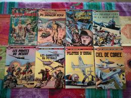 Lot De 16 Bandes Dessinées Brochées De Buck Danny Du Dessinateur Victor Hubinon - Books, Magazines, Comics