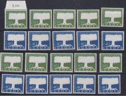 Europa Cept 1957 Germany 2v (10x) ** Mnh (44973) - 1957