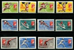 Russia 1964  Mi 2932-2937 A+B  MNH OG** - 1923-1991 USSR