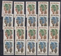 Europa Cept 1957 France 2v (10x) ** Mnh (44974) Promotion - Europa-CEPT