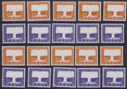 Europa Cept 1957 Saarland 2v (10x) ** Mnh (44975) - Europa-CEPT
