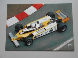GRAND PRIX F1 GRAND PRIX DE MONACO RENE ARNOUX RENAULT 20 MONACO 1980 PHOTO GEORGES RAKIC - Grand Prix / F1