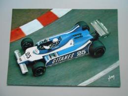 GRAND PRIX F1 GRAND PRIX DE MONACO DIDIER PIRONI LIGIER JS 11 A MONACO 1980 PHOTO GEORGES RAKIC - Grand Prix / F1