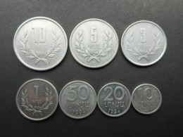 Armenia 10,20,50 Luma,1,3,5,10 Dram 1994 (Lot Of 7 Coins) - Armenië