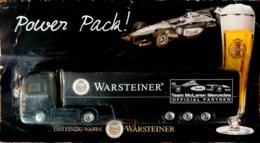 FORMULE 1 Camion Team McLAREN MERCEDES BIERE WARSTEINER 1/87 NEUF Sous Blister - Advertising - All Brands