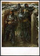C8931 - Richard Schreiber - U Boot - Gegen England 2. WK WW - Haus Der Deutschen Kunst - Heinrich Hoffmann - Autres Illustrateurs