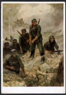 C8932 - Wilhelm Sauter - Übergang Am Oberrhein 2. WK WW - Haus Der Deutschen Kunst - Heinrich Hoffmann - Autres Illustrateurs