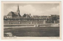 56 - Port-Louis -     Les Quais Et L'Eglise - Port Louis