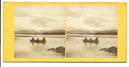 Photo Stéréoscopique - Loch Of Park, Aberdeenshire. - Stereoscopio