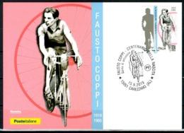 ITALIA / ITALY 2019 - Fausto Coppi - Maximum Card, Come Da Scansione. - Cycling