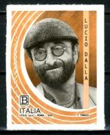 ITALIA / ITALY 2019** - Lucio Dalla - 1 Val. MNH, Autoadesivo, Come Da Scansione. - Singers