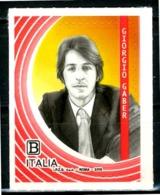 ITALIA / ITALY 2019** - Giorgio Gaber - 1 Val. MNH, Autoadesivo, Come Da Scansione. - Singers