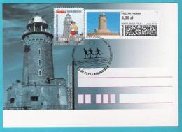 Poland 2019, KOLOBRZEG, KOLBERG,sport, Postcard Lighthouse Vuurtoren Phare Fyr Faro Leuchtturm, LIMITED EDITION - Lighthouses