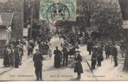 92 ROBINSON  Rue Malabrie Un Dimanche - Frankreich