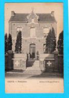 CPA OREYE - Presbytère - Circulée - Edit. D. Mangon-Poitevin - 2 Scans - Oreye
