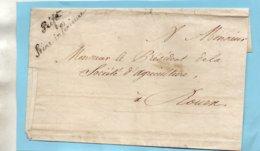 """""""Préfet Seine Inférieure""""L.S.C. Pour ROUEN. - 1801-1848: Voorlopers XIX"""