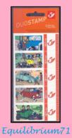 DUOSTAMP** / MYSTAMP**-  Tintin - Ancêtres  / Kuifje – Oldtimers  - (Hergé) - Comics