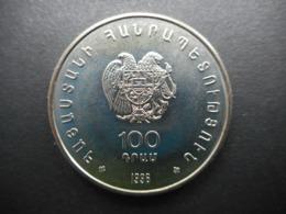 Armenia 100 Dram 1996 ⅩⅩⅫ Chess Olympiad In Yerevan - Arménie