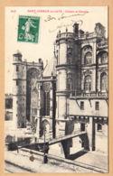 CPA Saint Germain En Laye, Le Chateau Et Chapelle, Gel. - St. Germain En Laye