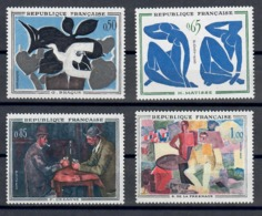 FRANCIA 1961 - ARTE QUADRI - SERIE COMPLETA - MNH** - Francia