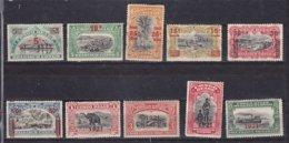 Belgisch Kongo - Congo Belge Nr 85-94  Postfris Met Plakker - Neuf Avec Charnière - MH - 1894-1923 Mols: Neufs