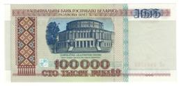 BELARUS100000RUBLES1996P15UNC.CV. - Belarus