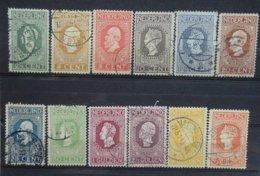 NEDERLAND   1913     Nr. 90 - 101   ( 101 Met Keurmerk)    Gestempeld    CW  1100,00 - 1891-1948 (Wilhelmine)
