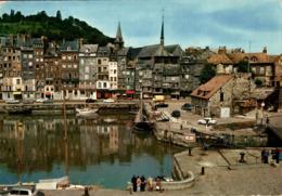 Honfleur Le Quai Ste Catherine Et Le Bassin 1971  CPM Ou CPSM - Honfleur