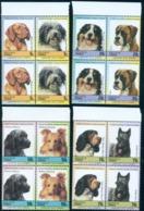 Dog Breed,Hund,Chien,Retreiever,Collie,Boxer,Terrier,Spaniel,Bl X4,MNH - Farm