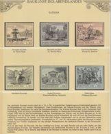 Vatikan 1975 Michel Nr.n 657-62 **, Yvert 594-99 **, Sassone 575-80 **, Baukunst Des Abendlandes - Ungebraucht